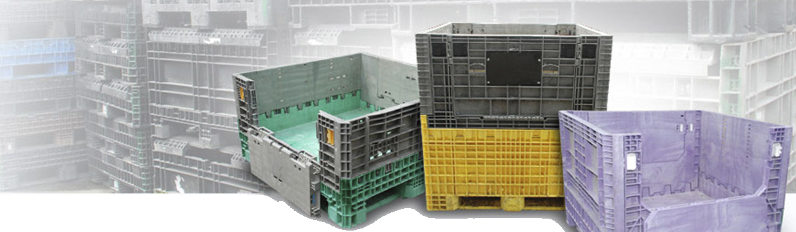 plastic and metal container warehousing