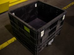plastic container - Collapsible, Two drop doors