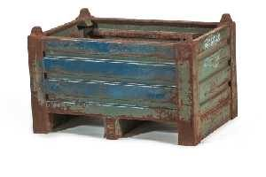 Used Metal Container-32x22x20
