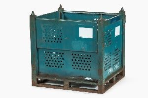 Used Metal Container-36x32x36
