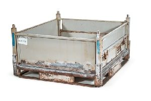 Used Metal Container-48x45x26