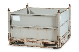 Used Metal Container-48x45x34