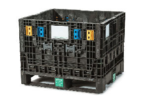 Used Plastic Container-30x32x25