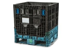 Used Plastic Container-30x32x30