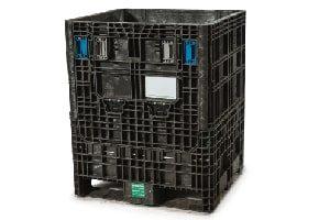 Used Plastic Container-30x32x39