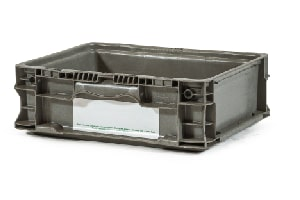 Used Plastic Tote-12x15x5