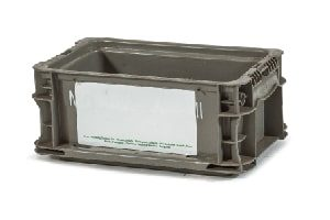 Used Plastic Tote-12x7x5