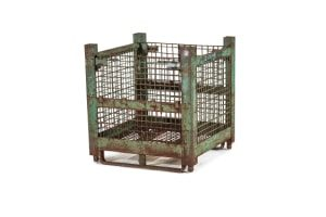 used Metal Container-32x30x32