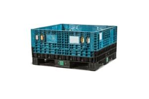 Used Plastic Container-45x48x25