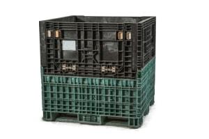 used Plastic Bin 45 x 48 x 48