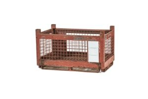used Metal Container 45 x 29 x 26