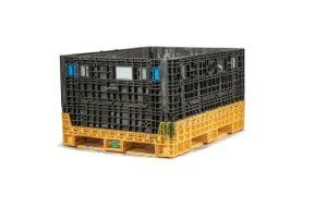 used Plastic Bin 48 x 62 x 48