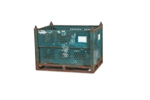 used Metal Container 48 x 36 x 34