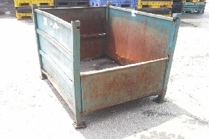 used Metal Container-48x40x40