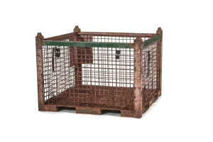 used Metal Container 48 x 48 x 34
