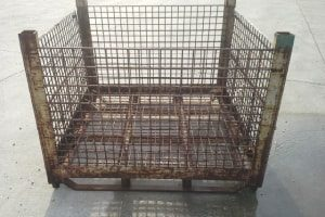 used Metal Container 48 x 48 x 39