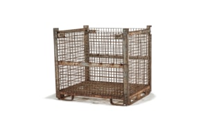 used Metal Container-54x44x49