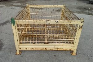 used Metal Container 58x41x31