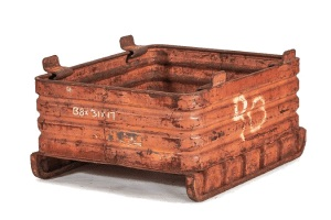 Used Metal Container-38x31x17