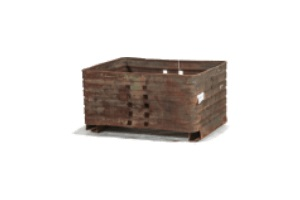 Used Metal Container-44x32x22