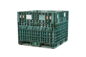 Used Plastic Container-40x48x39