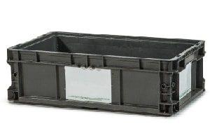 Used Plastic Tote-24x15x7