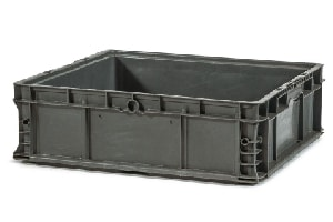 Used Plastic Tote-24x22x7