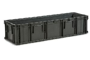 Used Plastic Tote-48x15x11