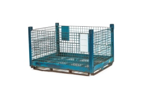 used Metal Container-58x45x35