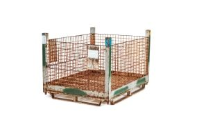 used Metal Container-58x45x39