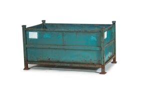 used Metal Container-61.75x36.35x32