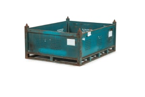 used Metal Containers 62.75x48x27