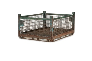 used Metal Container-67x57x34