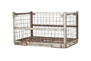 used Metal Container-84.5x54x49.5