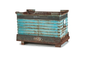Used Metal Container-53x32x36.5