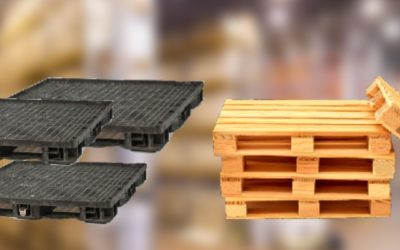 Plastic Pallets Vs. Wood Pallets Which Ones Are Better?