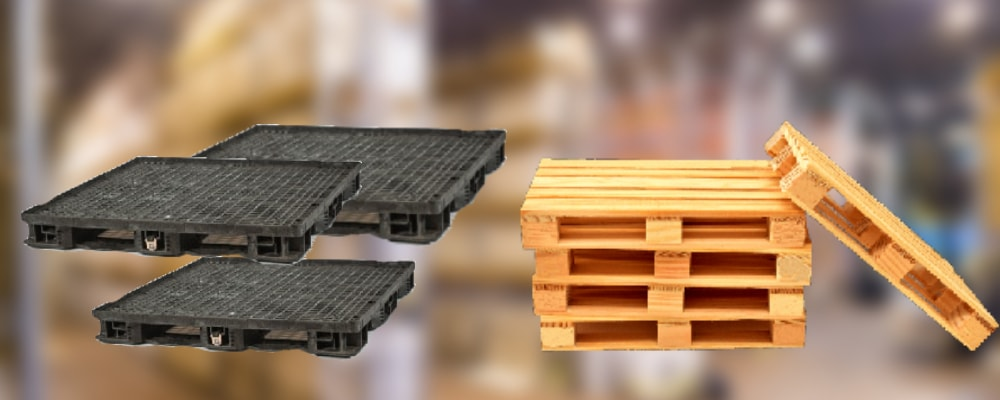 plastic pallets vs wood pallets