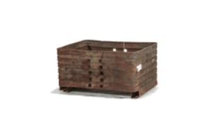 Used-Metal-Bin-44x32x22