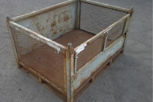 Used Metal Container-48.5x36x26