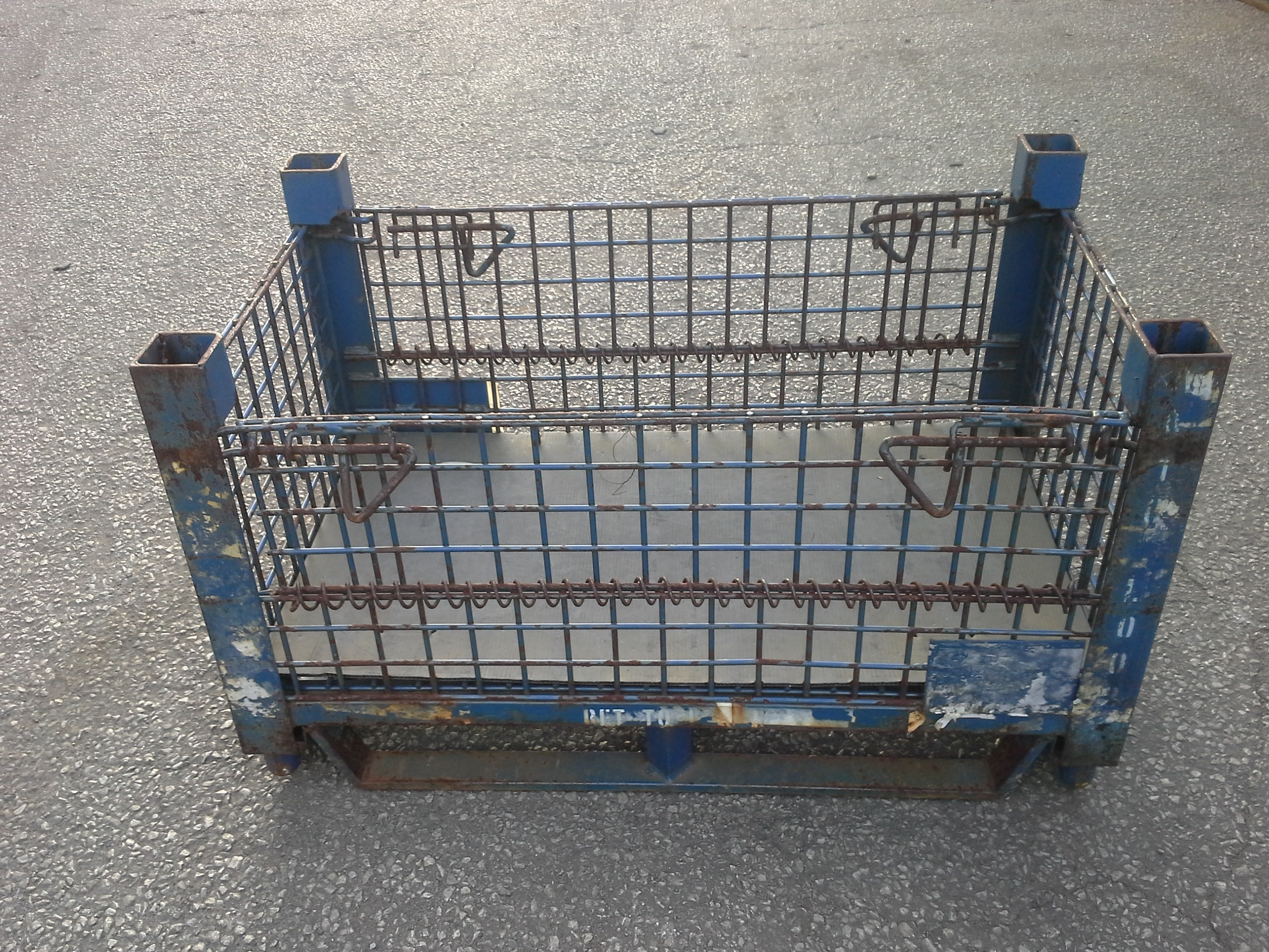 Metal container- Stackable 110 Containers