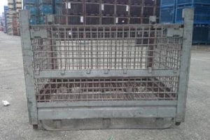 53 x 42 x 38 metal container
