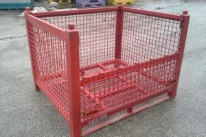 54 x 44 x 40 wired basket