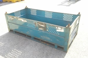 72 x 36 x 26 metal container