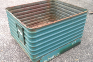 49 x 42 x 28 metal container