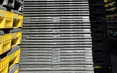 The Benefits of Using Nestable Plastic Pallets